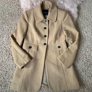 Tan pea coat